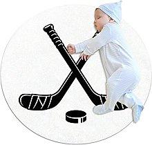 Area Tappeto Tappeto Rotondo Hockey Sportivo per