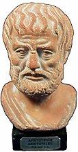 Aristotele scultura busto antico filosofo greco