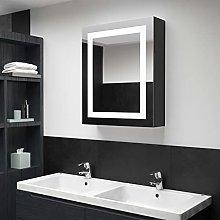 Armadietto a specchio per bagno illuminato a LED,