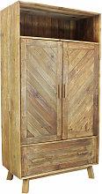 armadio due ante di design moderno in legno di