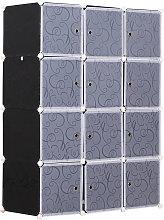 Armadio Guardaroba Modulare 12 Cubi Fai da Te in