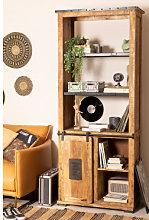 Armadio in legno Uain con quattro cassetti Legno