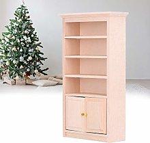 Armadio in miniatura in legno, armadio per casa