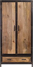 Armadio industriale in legno di mango INDUSTRIA