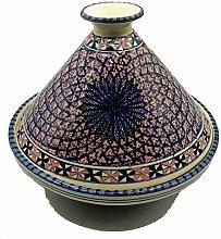 Arredo Etnico Tajine Decorativa Ceramica