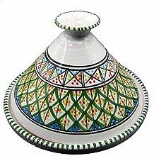 Arredo Etnico Tajine Decorativa Terracotta