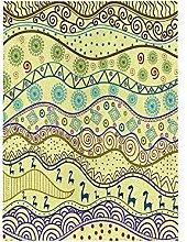 Arte Astratta Bandiera del Giardino Banner