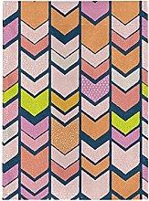 Arte Astratta Colorata Bandiera del Giardino