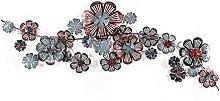 Arte della parete del fiore di metallo creativo,