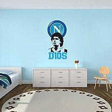 Arte e Stampa adesivo Murale Maradona D10S El Pibe