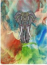 Arte Elefante Bandiera del Giardino Banner