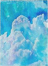 Arte Nuvola Blu Bandiera del Giardino Banner