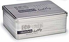 ARTE REGAL Barattolo latta rettangolare Cioccolato