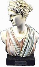 Artemis scultura busto greco antico dea della