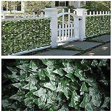 Artificiale Siepe Finta Foglia Edera Green Balcony