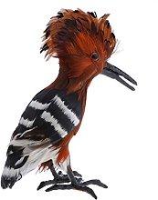 Artificiale Uccello Upupa Figura Statua Scultura