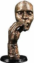 Artigianato Scultura Statua Creativo Fumatori