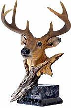 Artigianato Scultura Statua Decorazioni di cervo