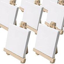 Artina Set da 10 cavalletti Pittura in Miniatura -