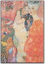 Artopweb Pannelli Decorativi Klimt Die Freudinnen
