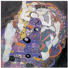 Artopweb Pannelli Decorativi Klimt Le Vergini