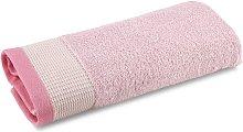 Asciugamano Ospite Trendy  in Cotone Rosa Caleffi