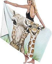 asdew987 Giraffa Beach Towel Sheet Set Bagno