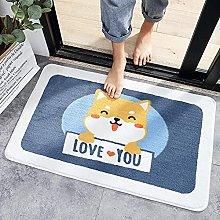 ASDWA Tappeto da bagno a forma di gatto, morbido e