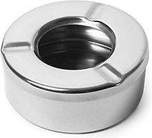 Asiashopping - Posacenere in acciaio da tavolo