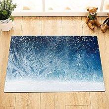 Astratta foresta nevicata Indoor antiscivolo