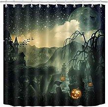 Astratto halloween horror sfondo stampa HD, bagno
