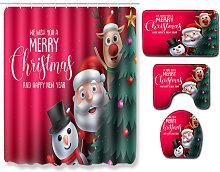 Asupermall - 4pcs / set di Natale Babbo Natale