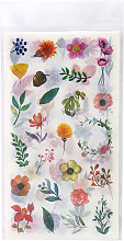 Asupermall - Adesivo con piante di fiori Adesivi