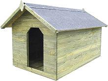 Asupermall - Cuccia per Cane da Esterno con Tetto