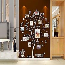 Asvert Adesivo Murale Albero Acrilico 3D Adesivo