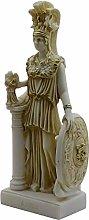 Athena Minerva Dea greca Cast Museo di marmo Copia