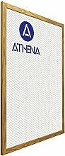 Athena Quercia Colore Cornice, Poster Dimensione,