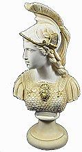 Athena scultura busto Minerva antico greco dea