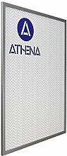 Athena Sottile Argento Colore Cornice, Poster