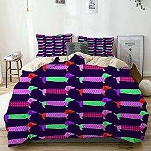ATZTD - Set di biancheria da letto con