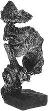 Augienb - Volto astratto Resina Figura Statua