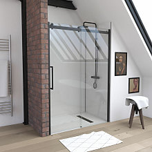 Aurlane - Cabina doccia rettangolare 160x85x215 cm