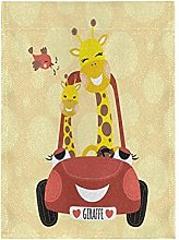 Auto Cuore Giraffa Bandiera del Giardino Banner