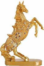 Auto parts Statua del Cavallo di Guerra di