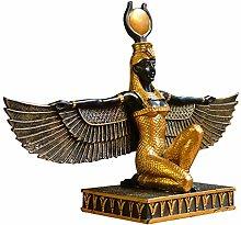 Auto parts Statua della Dea Egizia, Scultura di