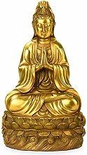 Auto parts Statua di Rame Guanyin Buddha in Rame