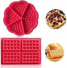 Auzof Stampo per Waffle, Stampo da Forno in