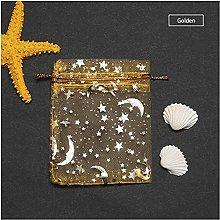 Avanzato 50 PZ Stelle Moon Design Design Borse