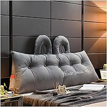 AWSAD Cuscino Letto Triangolo Headboard Cushion