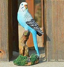 Aya611 Giardino Parrot Scultura Statua Casa
